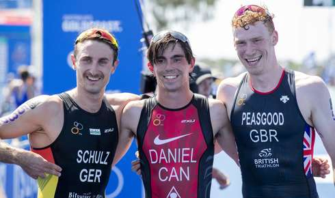 Para Triathlon: Silber und Bronze in Gold Coast